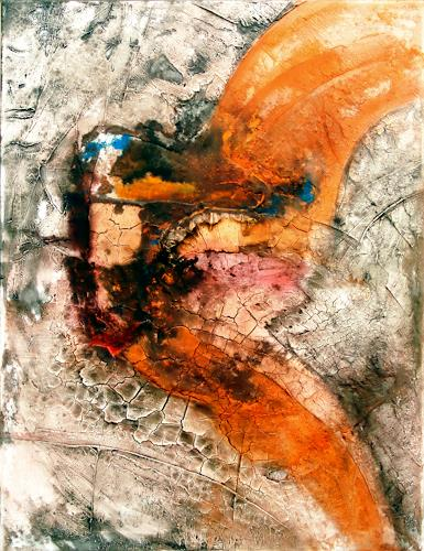 Werner Eisenreich, o.T., Abstract art, Expressionism