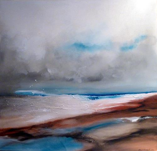 Werner Eisenreich, Seascape 2, Landscapes: Sea/Ocean, Expressionism