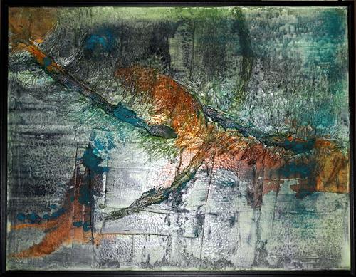 Werner Eisenreich, Kolibri, Abstract art