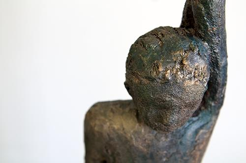 Renate Moser, Bronzejunge, People: Men, Naturalism, Expressionism