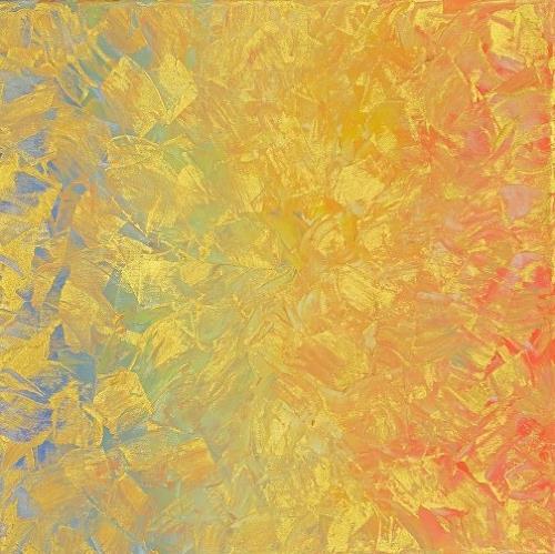 Petra Foidl, Struktur und Regenbogen, Abstract art