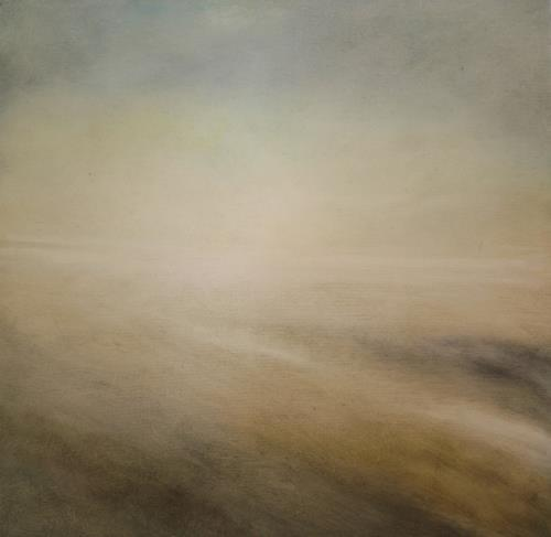 Petra Foidl, Winterstimmung, Emotions: Safety, Landscapes: Winter, Contemporary Art, Expressionism