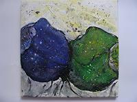 Ursula-Bieri-Abstract-art-Plants-Flowers-Modern-Age-Abstract-Art