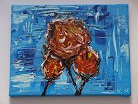 Ursula-Bieri-Abstract-art-Plants-Flowers-Modern-Age-Modern-Age