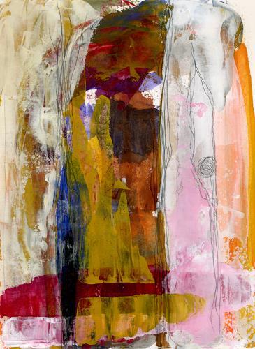 Christa Otte-Kreisel, jack - the pirat, People: Faces, Abstract Art
