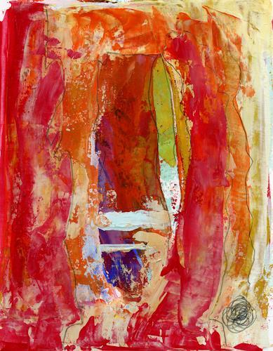 Christa Otte-Kreisel, tutto al suo tempo [5], Abstract art, Abstract Art