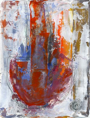 Christa Otte-Kreisel, Das Pendel, Abstract art, Abstract Expressionism