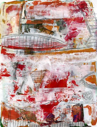 Christa Otte-Kreisel, Im Trockendock, Abstract art, Abstract Art