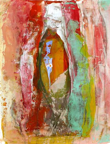 Christa Otte-Kreisel, tutto al suo tempo [6], Abstract art, Abstract Art, Expressionism