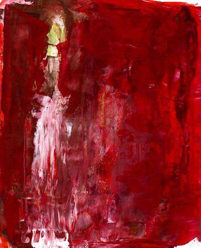 Christa Otte-Kreisel, Der Wächter, Abstract art
