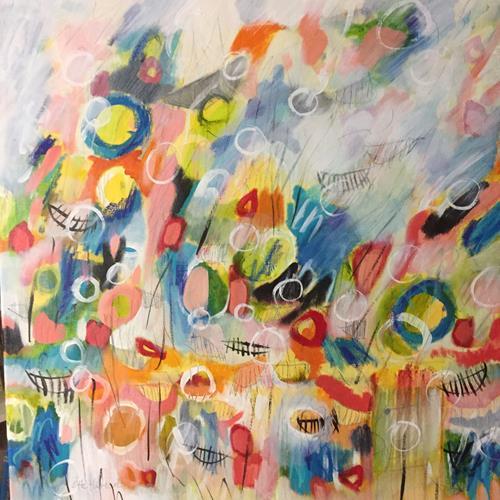 Christa Otte-Kreisel, o.T., Abstract art, Abstract Art