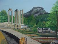 Y. Kamer, Römische Tempelanlagen