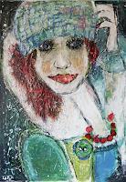 torsten-burghardt-People-Women-Modern-Age-Primitive-Art-Naive-Art