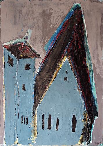 torsten burghardt, michaeliskirche in erfurt, Buildings: Churches, Abstract Expressionism