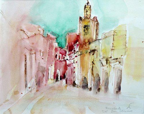 Gertraud Wagner, Marrakesch, Buildings: Churches