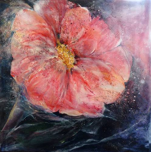 Gertraud Wagner, Herbstanemone, Plants: Flowers, Expressionism