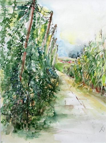 Gertraud Wagner, Hopfengarten, Miscellaneous Landscapes