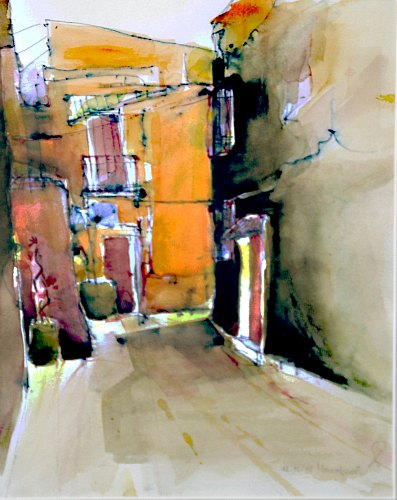 Gertraud Wagner, Marrakesch, Miscellaneous Buildings, Abstract Expressionism
