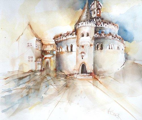 Gertraud Wagner, Kloster Neustift - Engelsburg, Architecture, Buildings: Churches