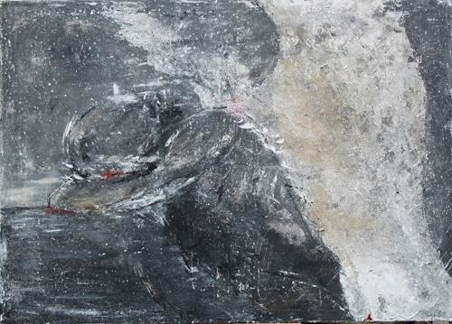 Birgit Dierker bad cares you by birgit dierker emotions depression painting