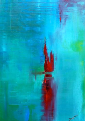 Birgit Dierker by birgit dierker abstract painting