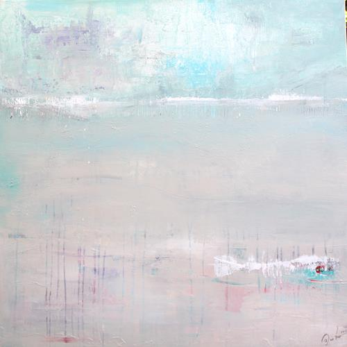Birgit Dierker, Laguna, Abstract art, Landscapes: Sea/Ocean, Contemporary Art, Expressionism