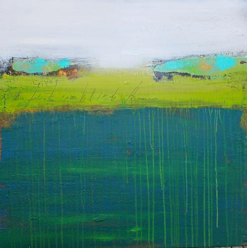 Birgit Dierker, Tief - seh -zeit II, Miscellaneous, Abstract art