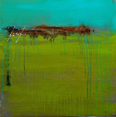 Birgit Dierker, Gemütliche Apokalypse I, Abstract art