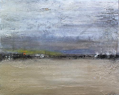 Birgit Dierker, immer auch leicht, Abstract art, Landscapes: Sea/Ocean, Contemporary Art