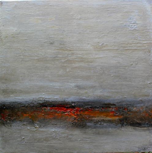 Birgit Dierker, les trois, Abstract art