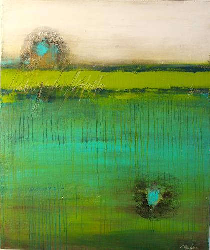 Birgit Dierker, Tief-seh-zeit III, Abstract art, Abstract art, Contemporary Art