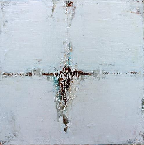 Birgit Dierker, Letters VIII, Abstract art
