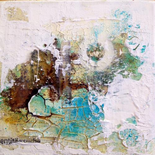 Birgit Dierker, Identitätssuche, Abstract art