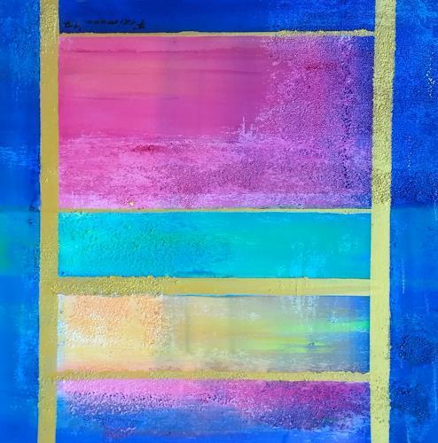 Florian Freimann, Leiter  zum Himmel, Religion, Mythology, Colour Field Painting