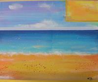 Florian-Freeman-Landscapes-Sea-Ocean-Landscapes-Summer-Modern-Age-Art-Deco