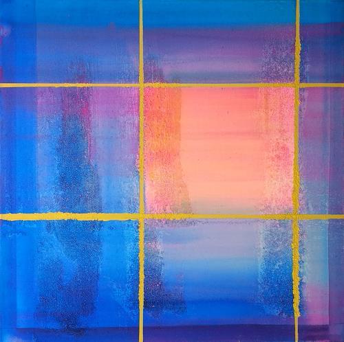 Florian Freimann, Shining Red, Abstract art, Decorative Art, Art Déco, Expressionism