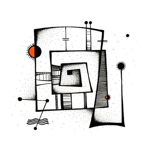 Ryn Shaparenko, aus der Serie Mechanoide, o.T., Abstract art, Technology, Bauhaus, Expressionism