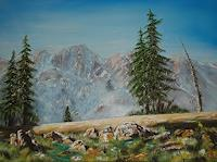 Hobbykunst-Landscapes-Mountains-Nature-Rock-Modern-Times-Realism