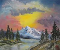 Hobbykunst-Landscapes-Mountains-Contemporary-Art-Land-Art