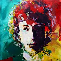 Silke-Agena-Music-Musicians-People-Portraits-Modern-Age-Expressive-Realism