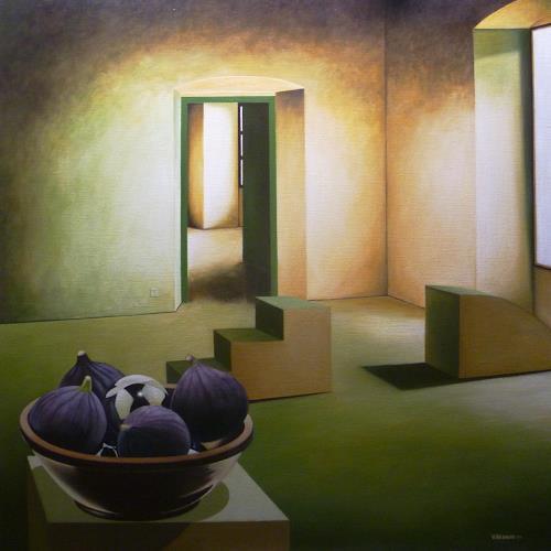 Valentin Reimann, Interieur, Still life, Interiors, Realism