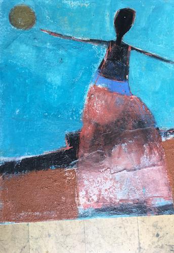 Doris Pade, O.T., Abstract art, Abstract Art, Expressionism