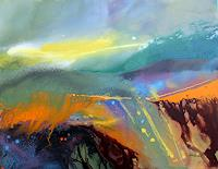 Ingrid-Kainz-Miscellaneous-Landscapes-Modern-Age-Abstract-Art