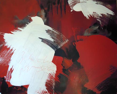 Ingrid Kainz, Hexe 1, Abstract art, Abstract art, Abstract Art