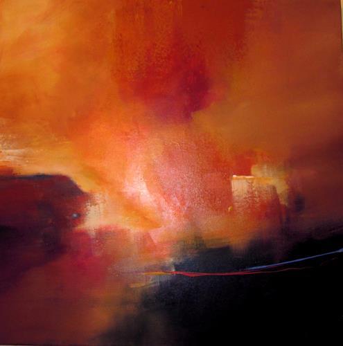 Ingrid Kainz, kleiner Lichtblick, Abstract art, Abstract art, Abstract Art