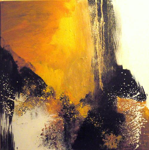 Ingrid Kainz, Gelber Traum, Abstract art, Abstract Art