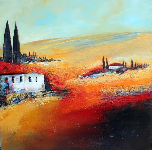 Ingrid Kainz, Heimat, Miscellaneous Landscapes, Abstract art
