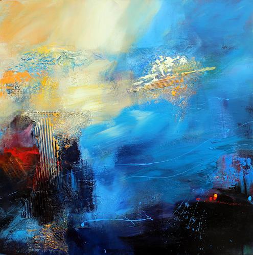 Ingrid Kainz, Meeresbrise, Abstract art, Nature: Water