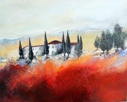 Ingrid Kainz, Toskana, Miscellaneous Landscapes, Landscapes