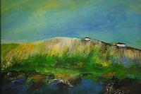 Ingrid-Kainz-Landscapes-Sea-Ocean-Landscapes-Hills-Modern-Age-Abstract-Art